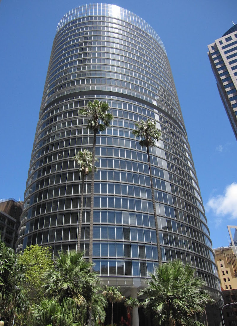 One Bligh Street Sydney Space Tower